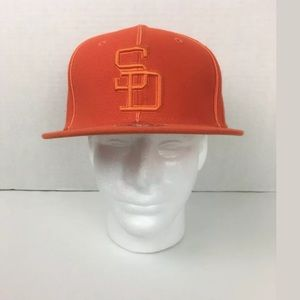 San Diego Padres Twins Enterprise Fitted '84 Hat